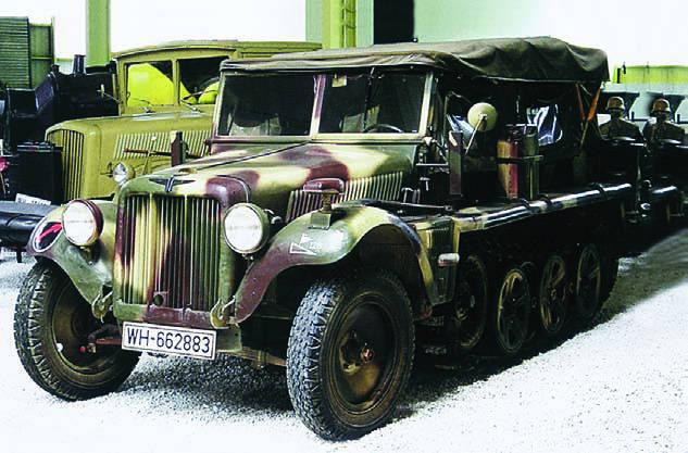 Adler D7 (Sd.Kfz.10)