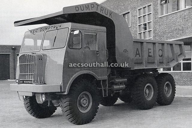 AEC Dumptruck 10 cu yd ( model DK6RAB )