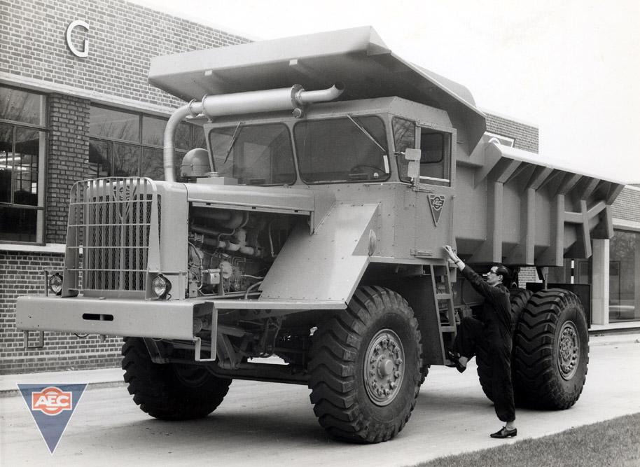 AEC Dumptruck 18 cu yd ( model HDK4 )