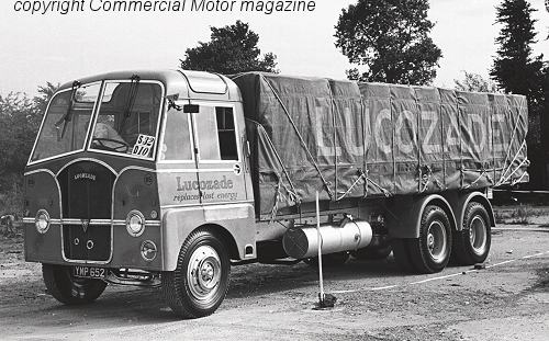 AEC Mammoth Major MkIII Lucozade