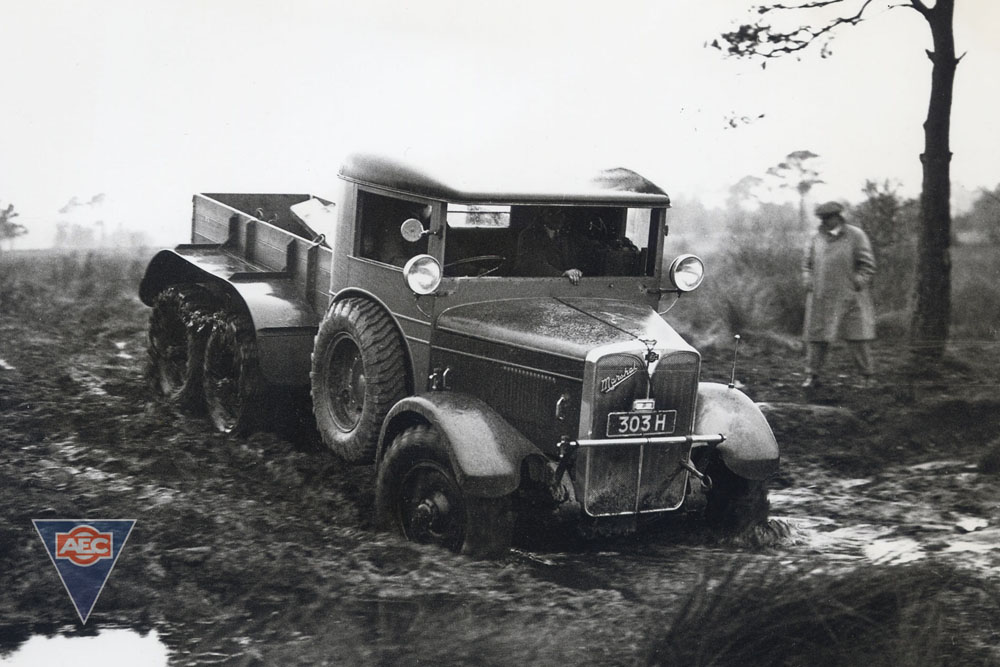AEC Marshal ( model 644 ) prototype