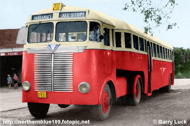 AEC Matador Articulated Bus
