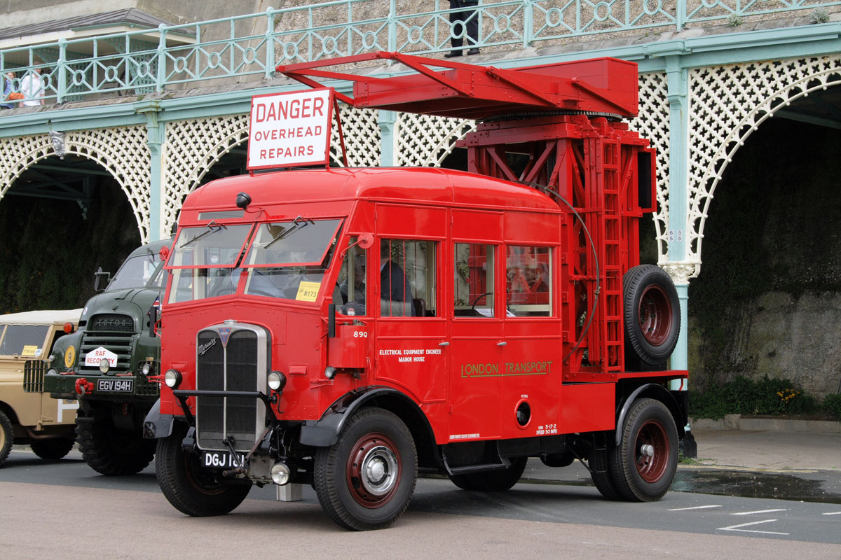 AEC Mercury London Transport Tower Wagon