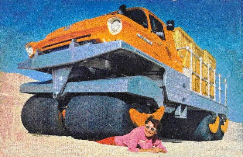 Albee Rolligon 7 ton, 6x6, Off-Highway, Transporter