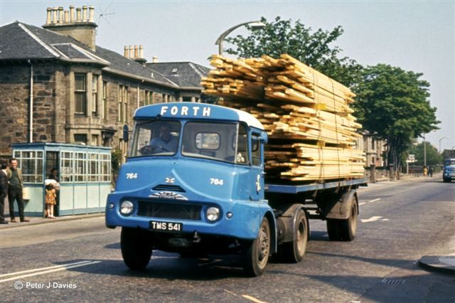 Albion Chieftain with Alexander Coachworks cab