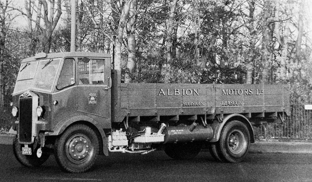 Albion CX3 with KP engine. From the Albion of Scotstoun book