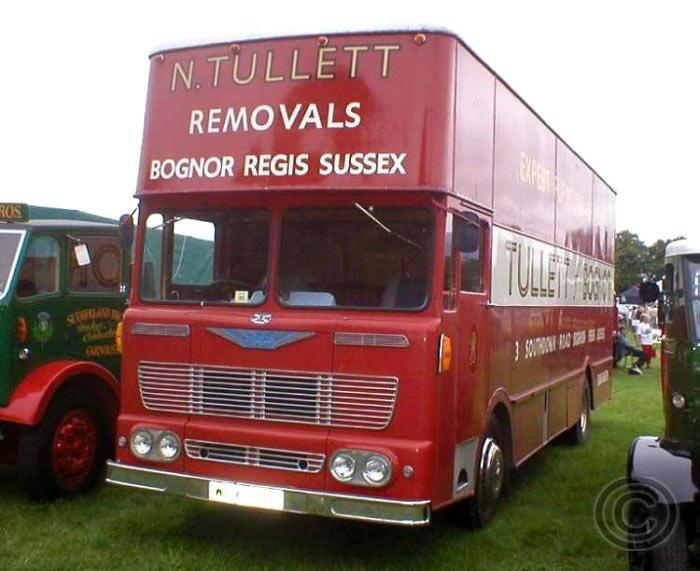 Albion Viking VK41L Removal Bus