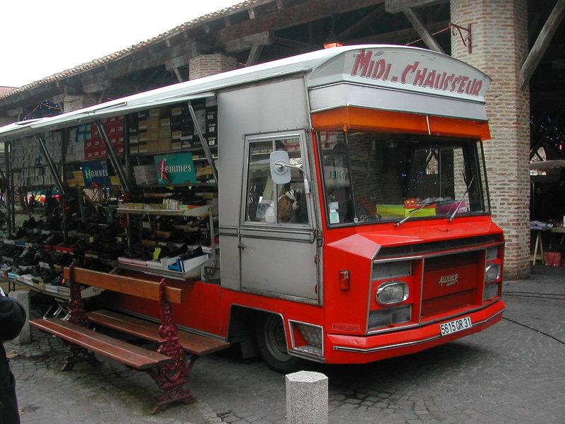 Alquier Frères Mobile Shop 1st generation