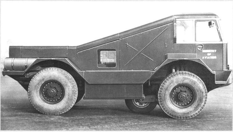 Alvis Salamander Friction Test Vehicle