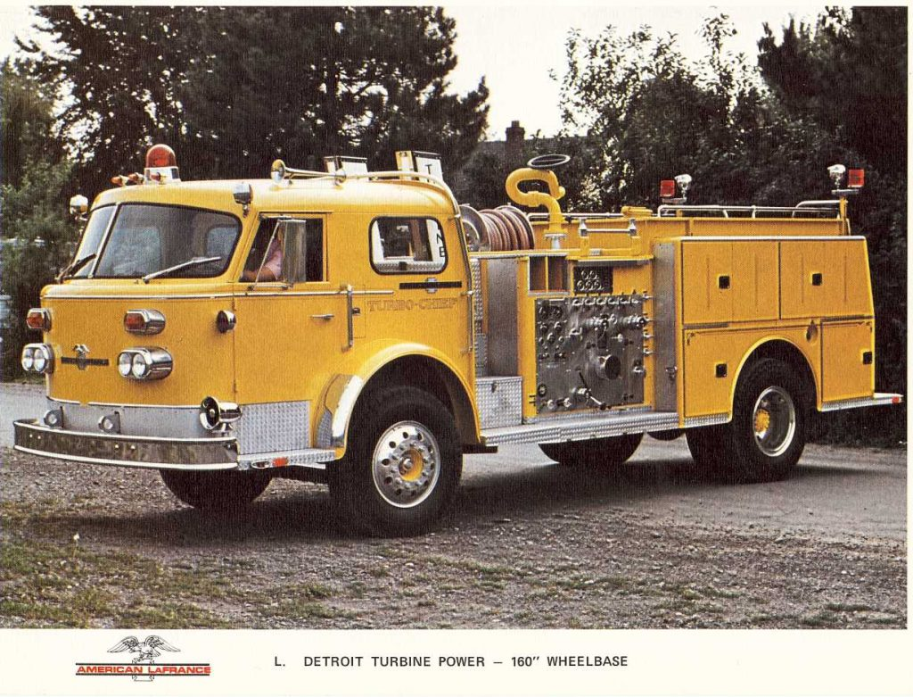 American LaFrance 1000 Series Turbo Chief