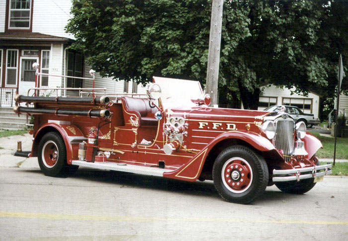 1938 American LaFrance 412RB-PWT Author Steve Mieszala