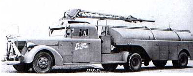 American LaFrance 500 Series Army Air Corps