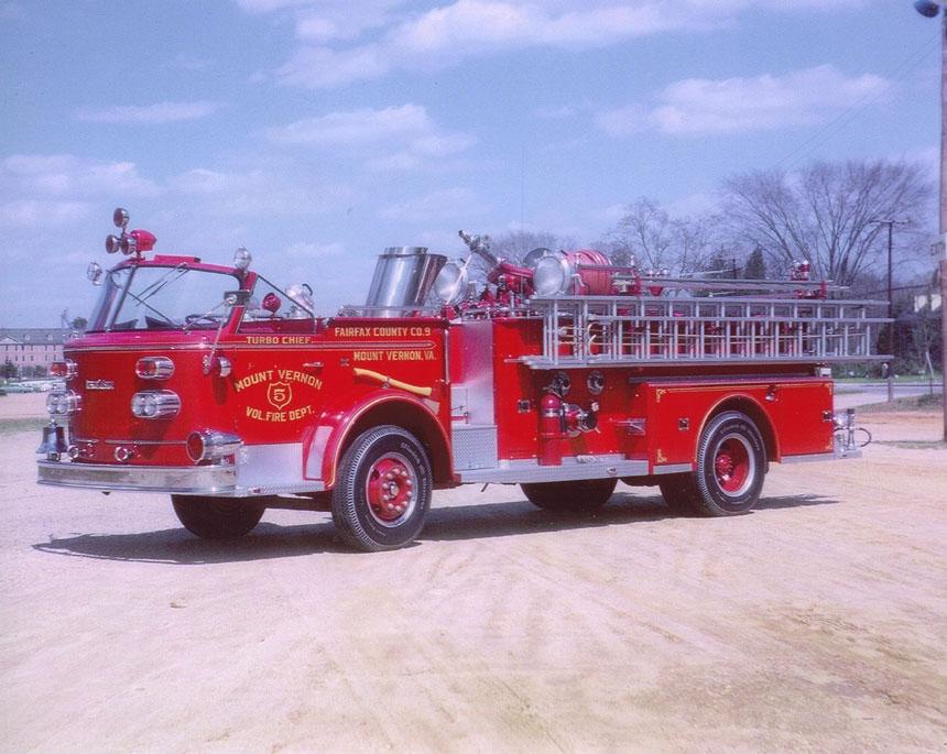 American LaFrance 900 Series Turbo Chief