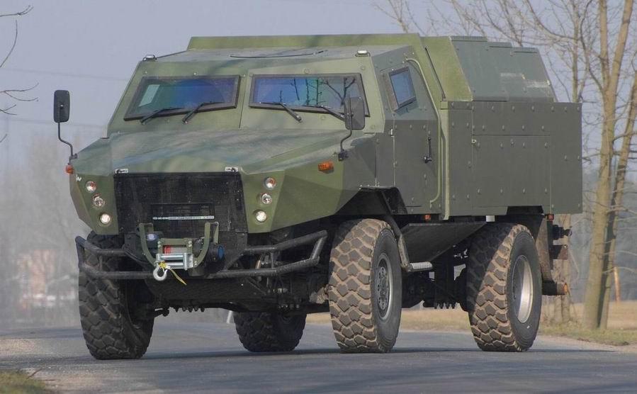 AMZ Kutno Zubr P prototype