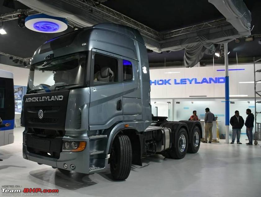 Ashok Leyland Captain 4940 Euro 6