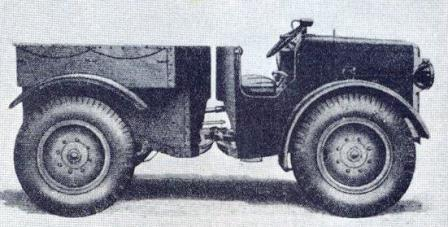Armstrong-Siddeley Pavesi P4 with pneumatic tires