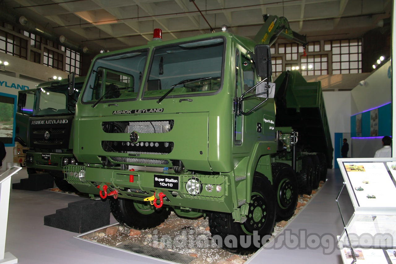 Ashok Leyland Super Stallion 10x10