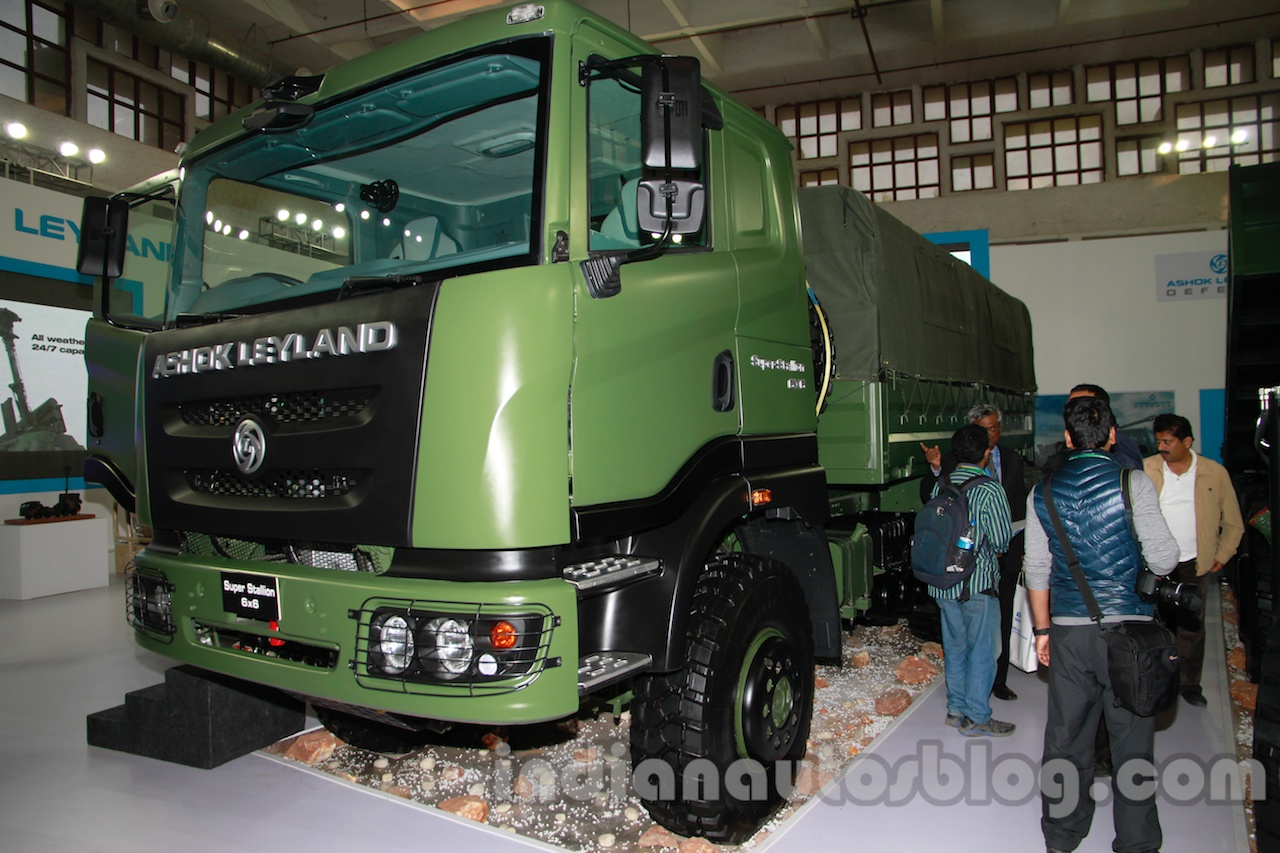 Ashok Leyland Super Stallion 6x6