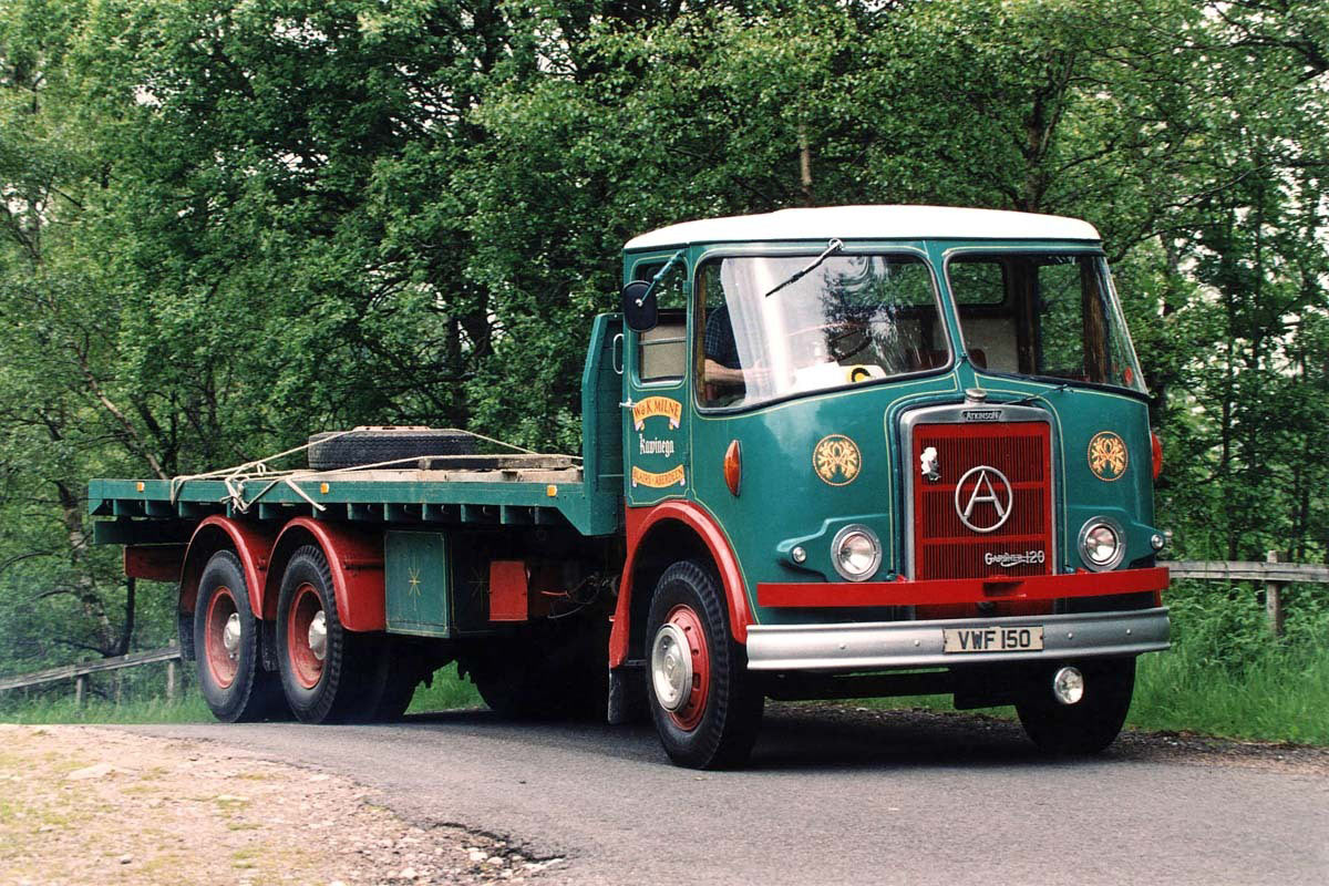 Atkinson Mk I with fibreglass cab