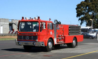 Atkinson Fire Truck with Ergomatic cab