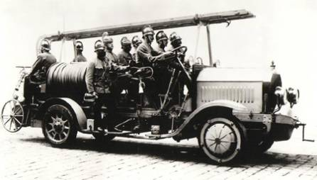 Austro-Daimler Mixt fire engine