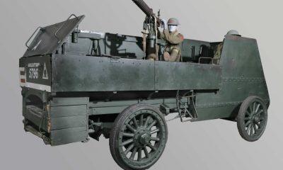 Autocar Type XXI Armored Car