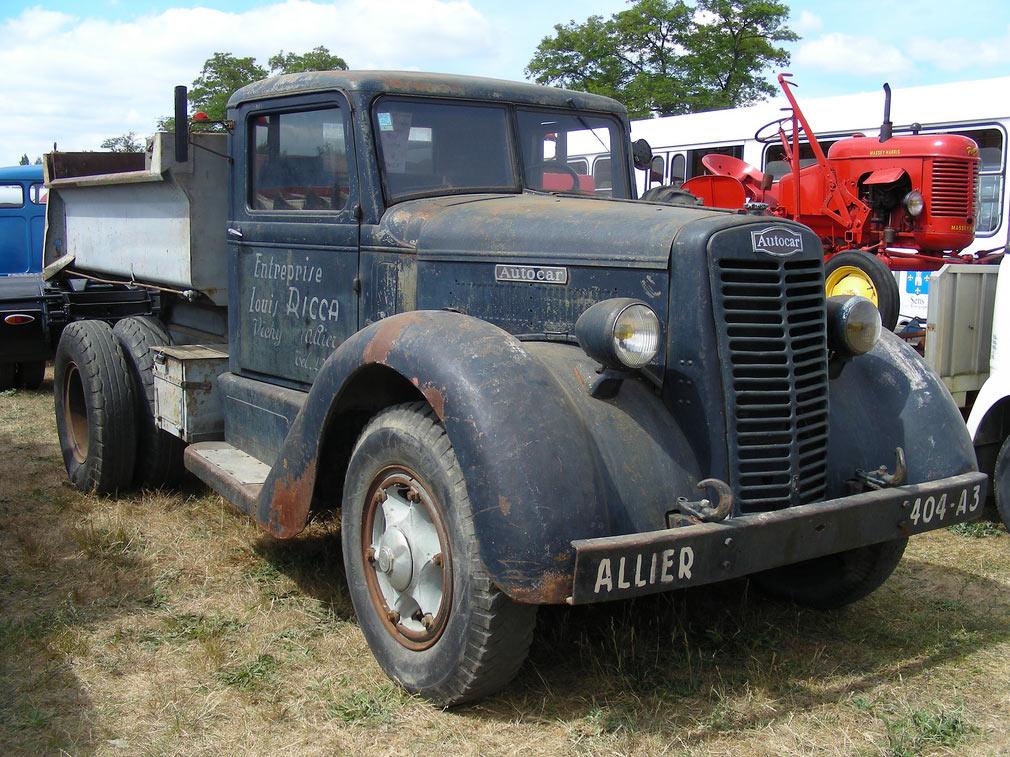 1940 Autocar C-40