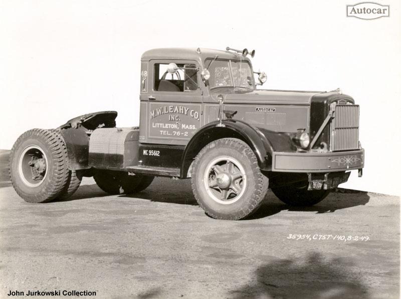 1949 Autocar C-75T