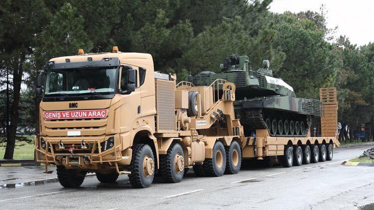 BMC Tugra tank carrier