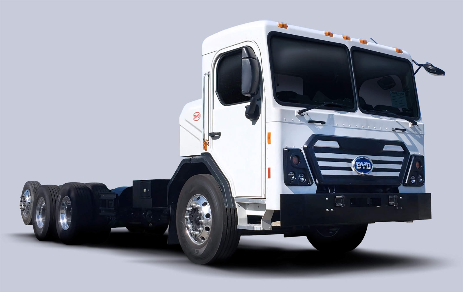 BYD Class 8 Battery-Electric Refuse Truck