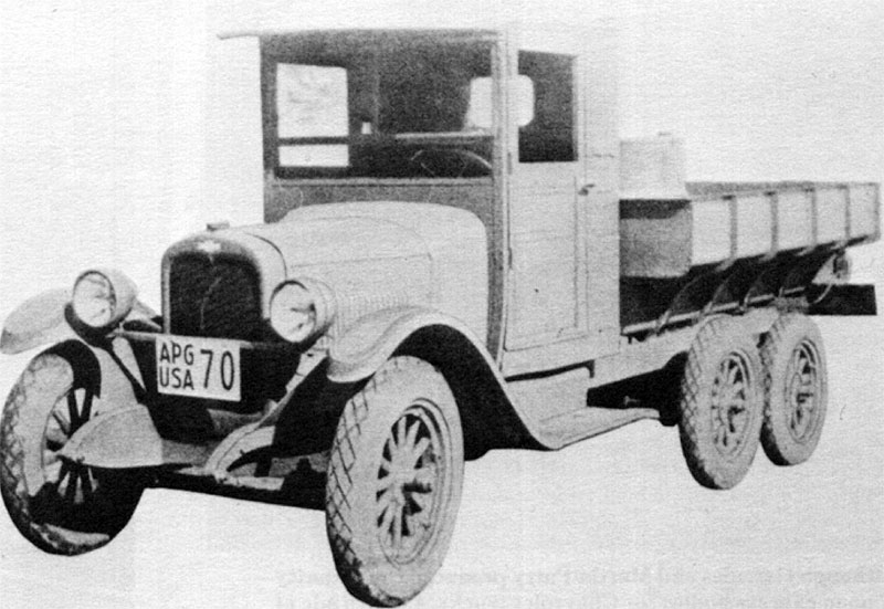 Chevrolet Model LM 6x4