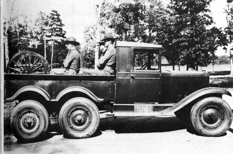 Chevrolet Model LQ 6x4
