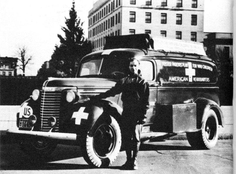 Chevrolet KF ambulance