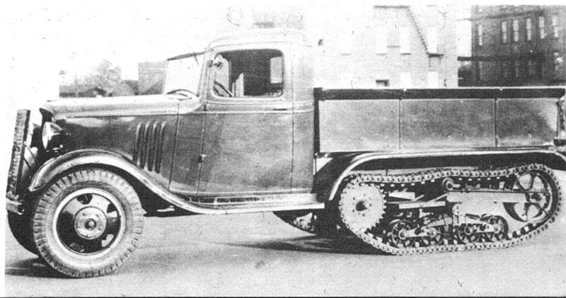 Chevrolet Series P half-track