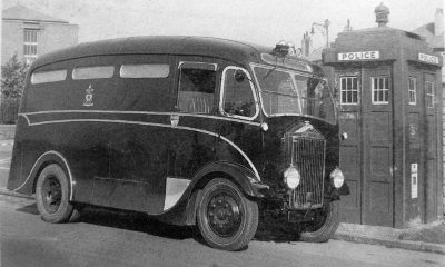Albion DW1S Patrol Van From the Albion of Scotstoun book