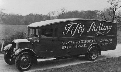 Van on the chassis of Albion PK26 From the Albion of Scotstoun book