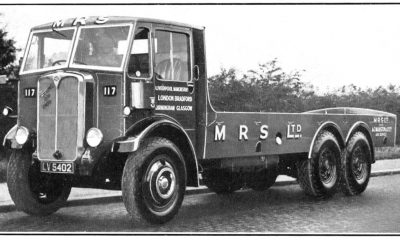 Armstrong-Saurer Dynamic / Dominant with cabover design