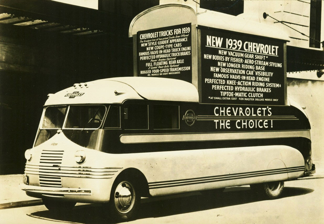 Chevrolet Series T promotional